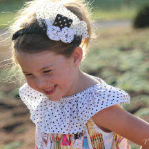 How to make a ruffle sleeveless peasant dress.