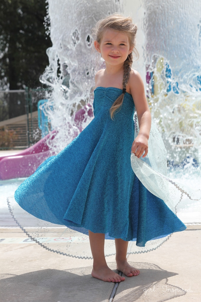 Elsa Dress for Frozen Birthday Party