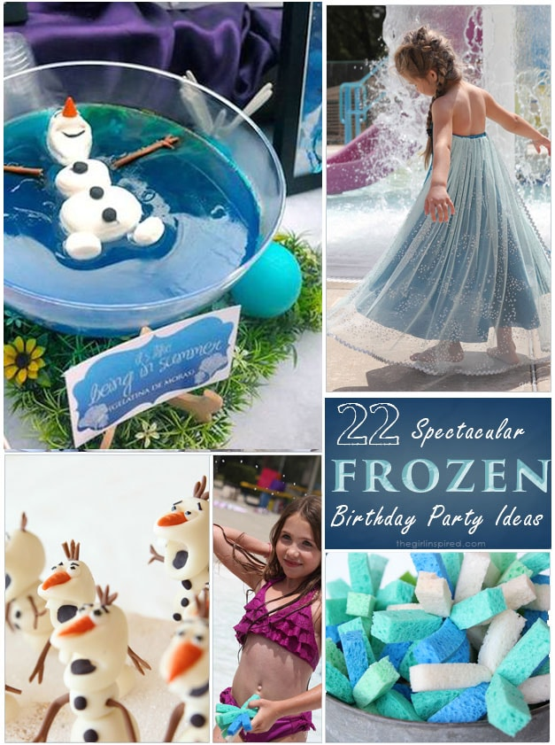 Disney Frozen Birthday Ideas