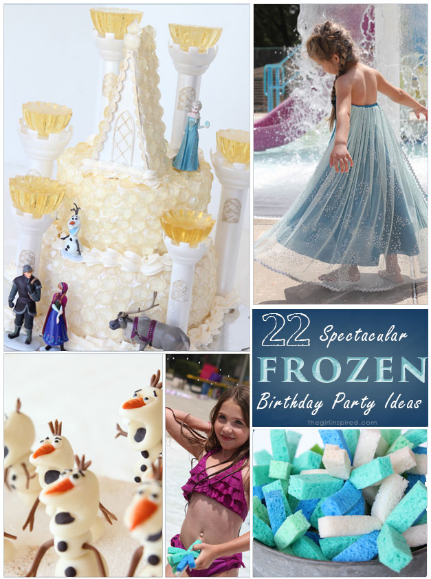 SO Many Amazing FROZEN Birthday Party Ideas!!!!