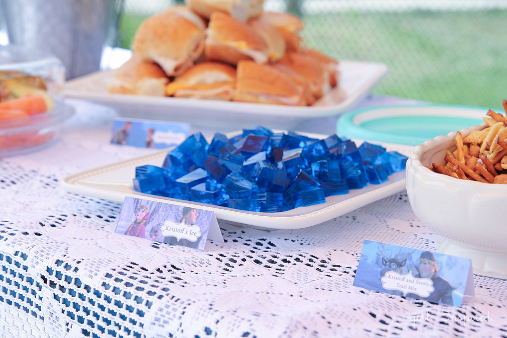 Food Ideas for Frozen Birthday Party