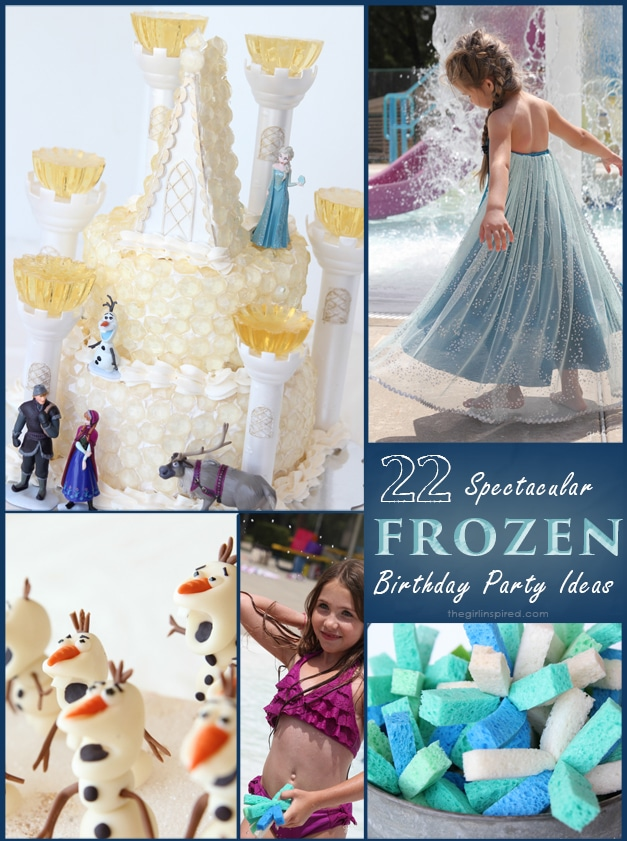 So Many FROZEN Birthday Party Ideas