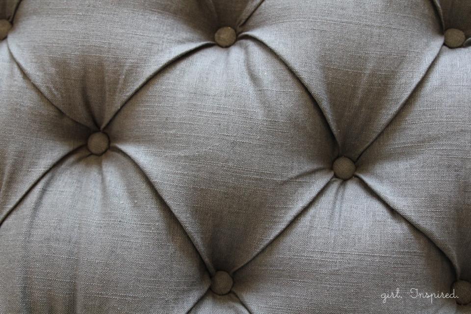 How To Make An Upholstered Headboard Girl Inspired