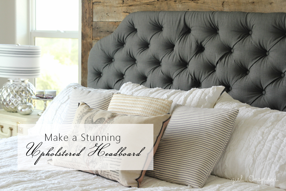 Make A Headboard how to make an upholstered headboard - girl. inspired.