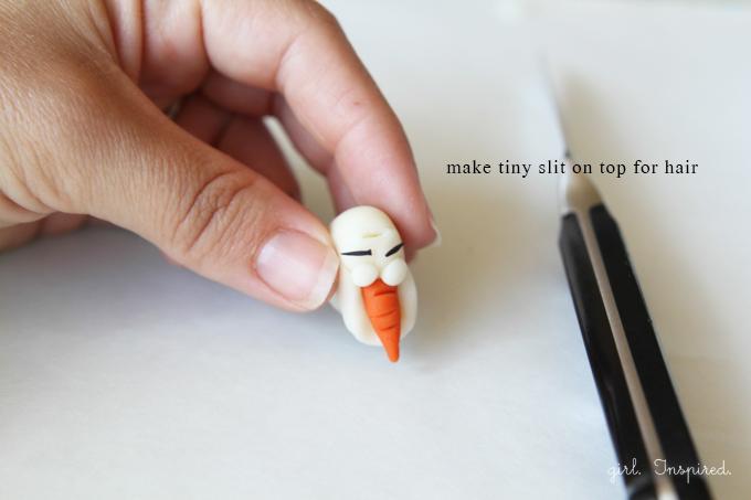 Olaf Cupcakes Tutorial