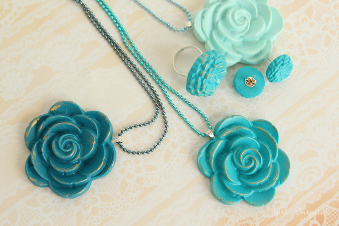 How to make Clay Jewelry - easy enough for kids!