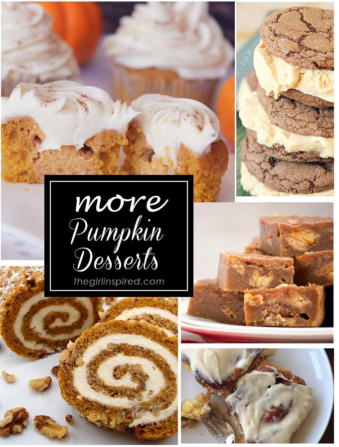 20 Pumpkin Desserts