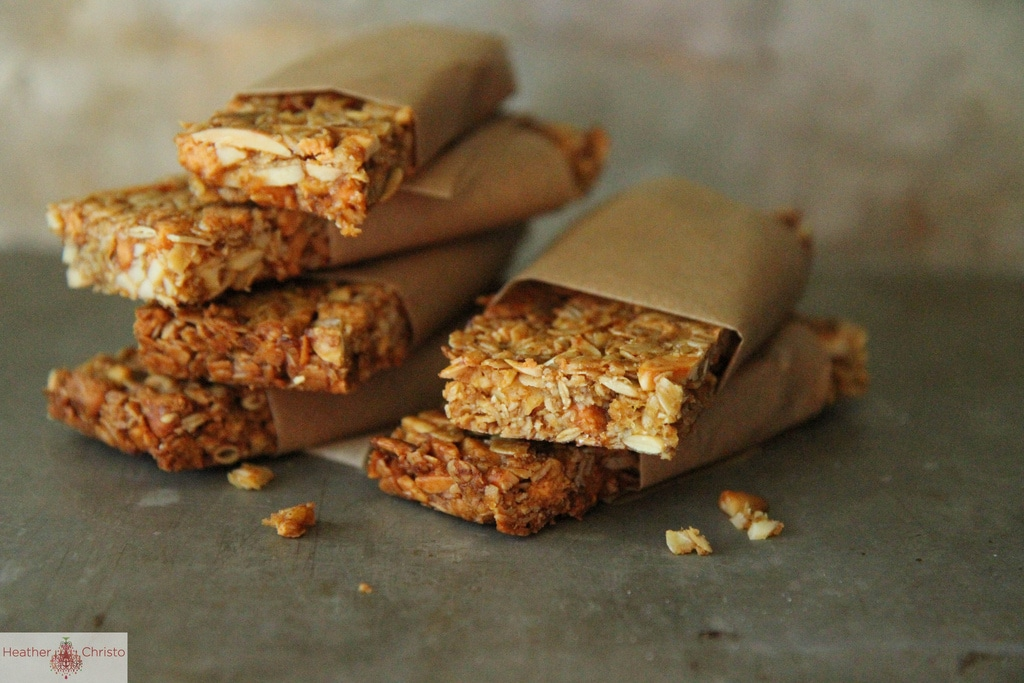 pumpkin granola bars - girl. Inspired.