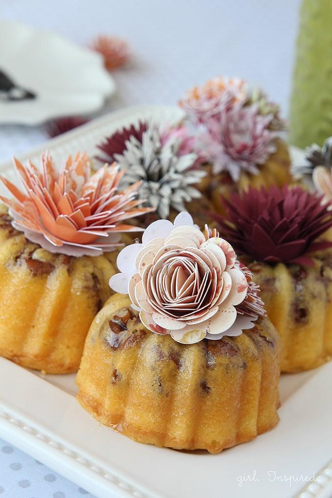 Flower Burst Mini Cakes Girl Inspired