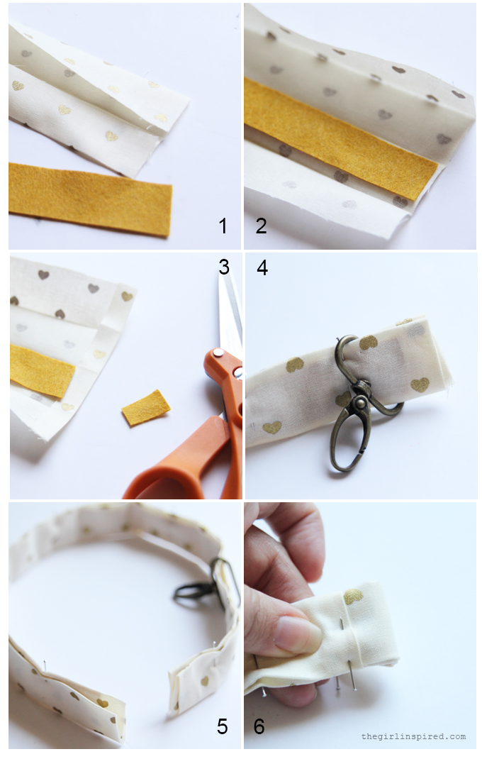 Cute Fabric Keychain DIY
