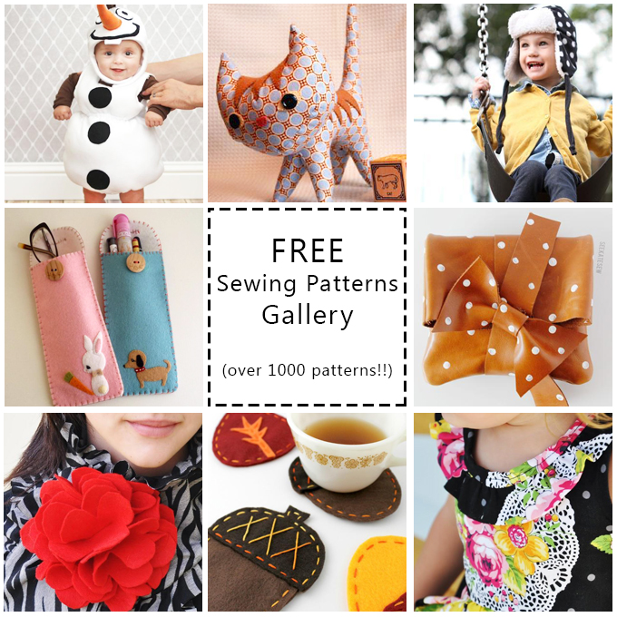 1000+ Free Sewing Patterns