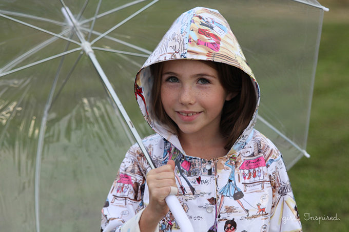 Sew a Raincoat - pattern suggestion and tips for sewing with laminated cotton!