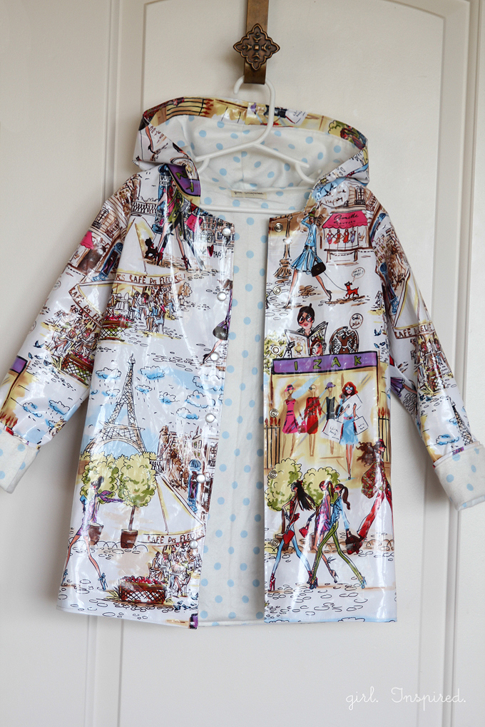 Sew A Raincoat Girl Inspired