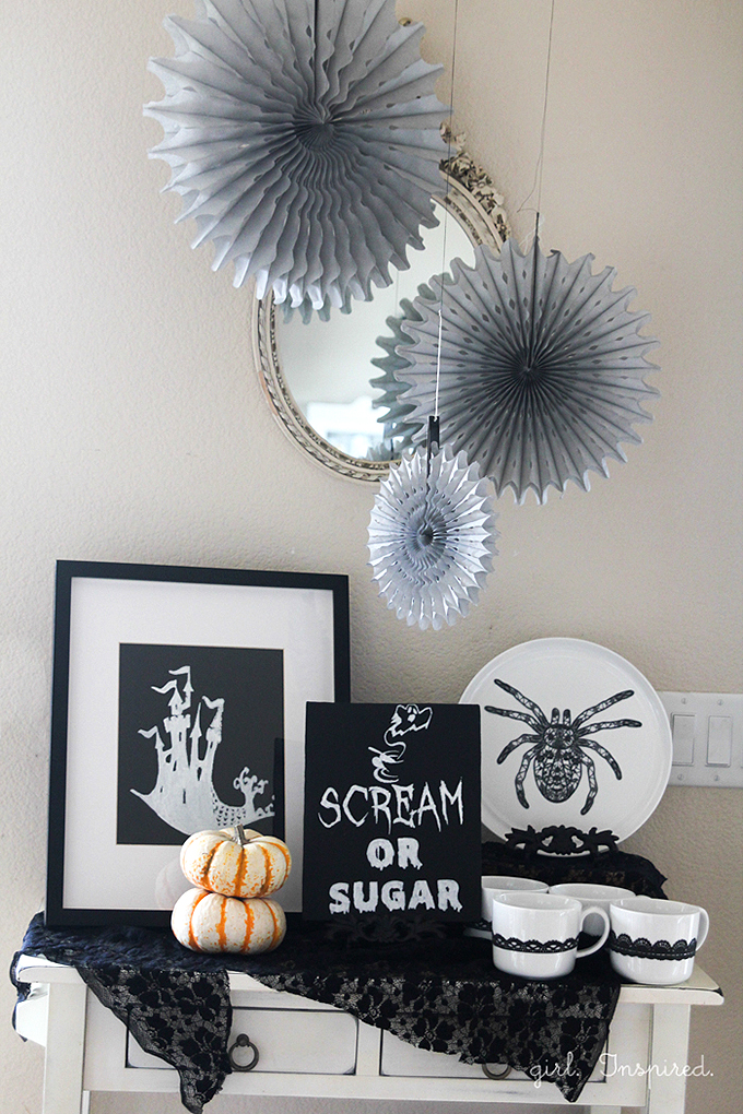 Marvelous Shriek To Chic Halloween Party Decor   Free Printables, Easy Decor Ideas  #DIY4Halloween