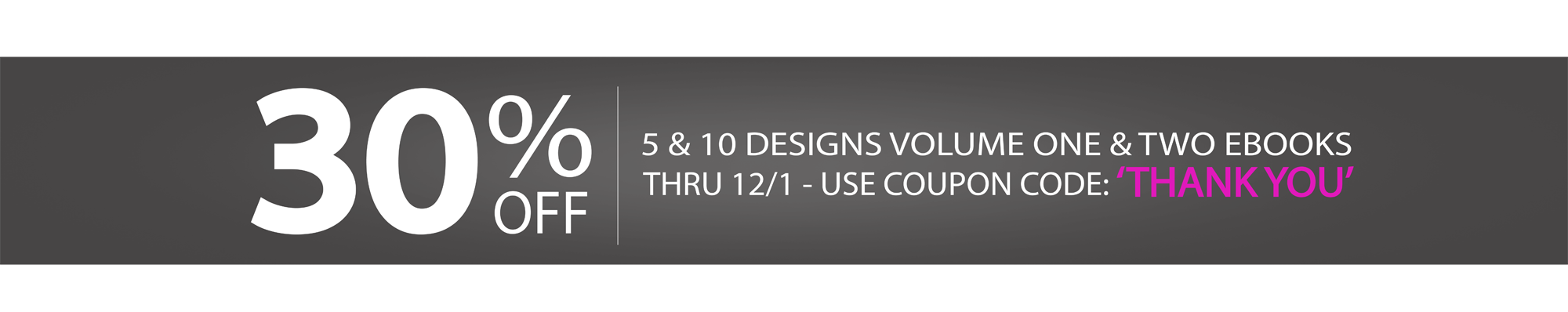 FIVE AND TEN DESIGNS WEBSITE BANNER