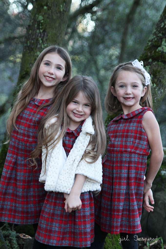 New Pleated Plaid Holiday Dresses - girl. Inspired. DH69