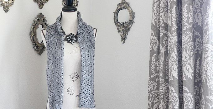 15-Minute Easy Lace Scarf