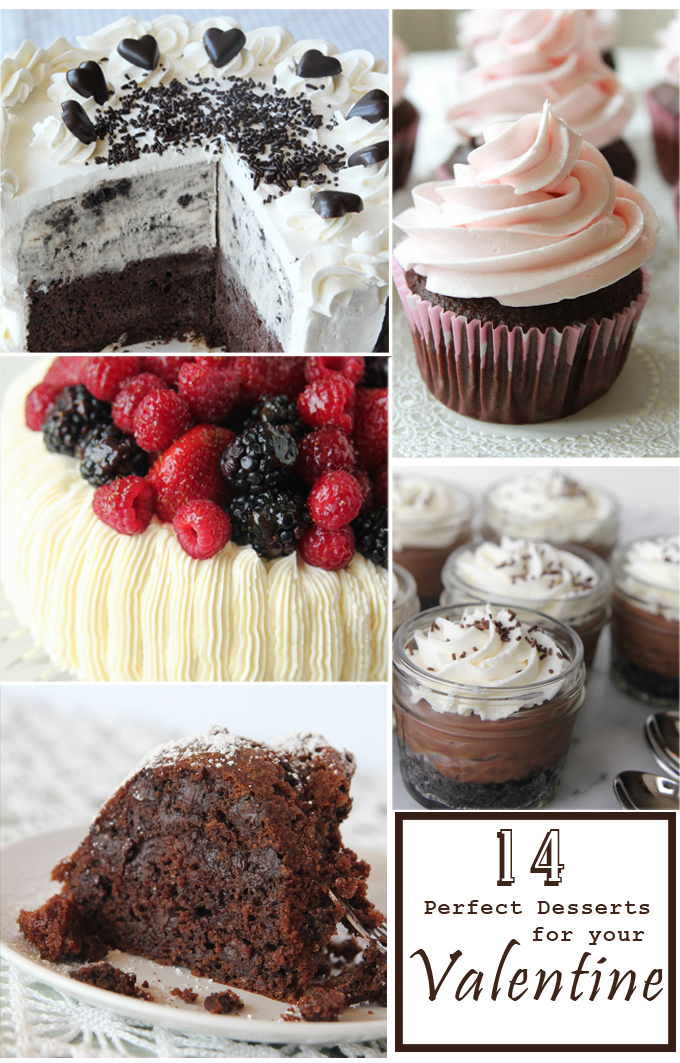 14 perfectly sweet valentine 39 s dessert recipes girl inspired - Desserts valentines day ...
