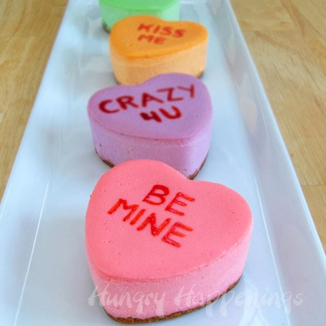 Conversation Heart Cheesecake Recipe