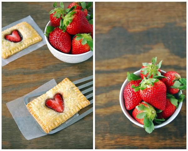 Strawberry Nutella Poptarts