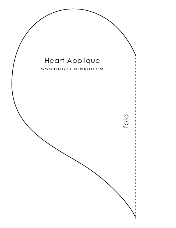 Begin By Printing Out The Heart Template