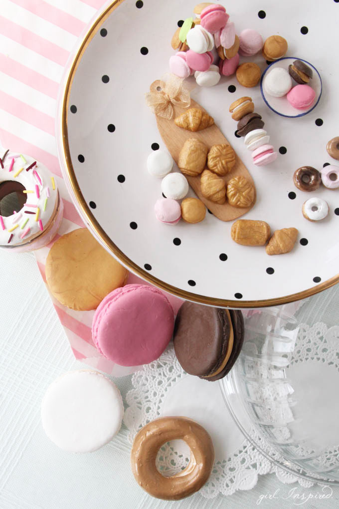 Miniature Clay Food - easy to make and so CUTE!