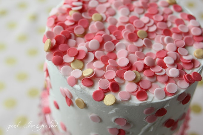 Easy Cake Decorating With Sprinkles : edible confetti Archives - girl. Inspired.
