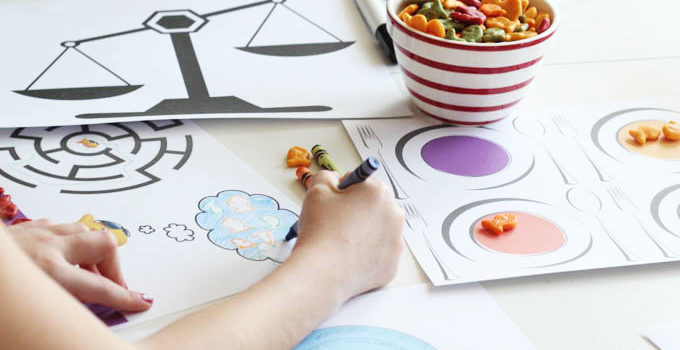 Goldfish Tales Printable Activity Sheets and $100 Sweepstakes