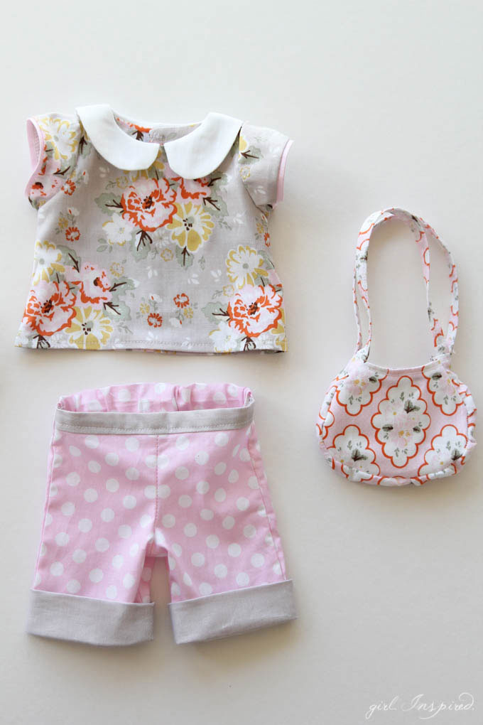 Riley Blake Doll Clothes Tutorial