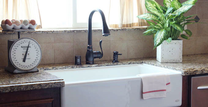 4-Step Kitchen Sink Makeover and Giveaway