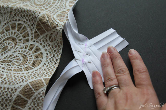 Bias Tape Placemat Tutorial