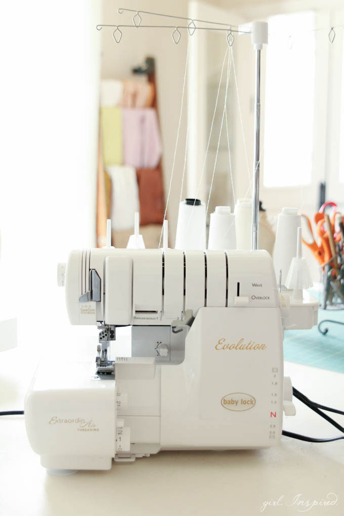 Sewing Room Tour - THE serger!