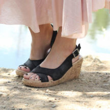 Maxi Skirt and Cute Wedges!