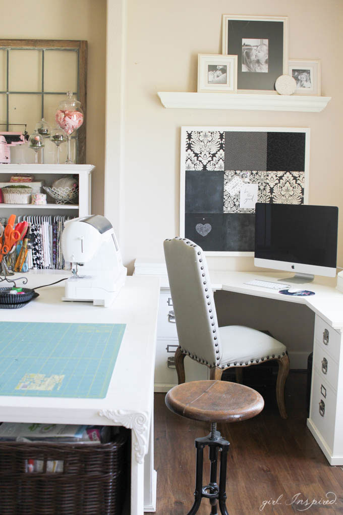 Sewing Room Tour   Ideas For Storing Fabric, Tools, A Large Workspace And  Desk
