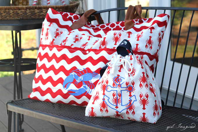Summer Beach Bags - girl. Inspired.