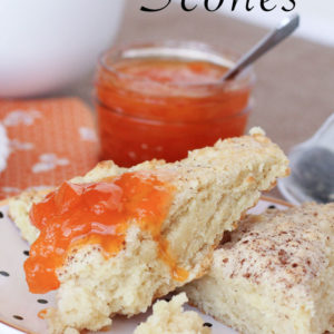 Hot Buttermilk Scones - these are so moist and dense inside with a flaky cinnamon-sugar crust - SO good!