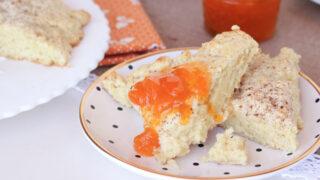 Hot Buttermilk Scones with Cinnamon-Sugar Crust