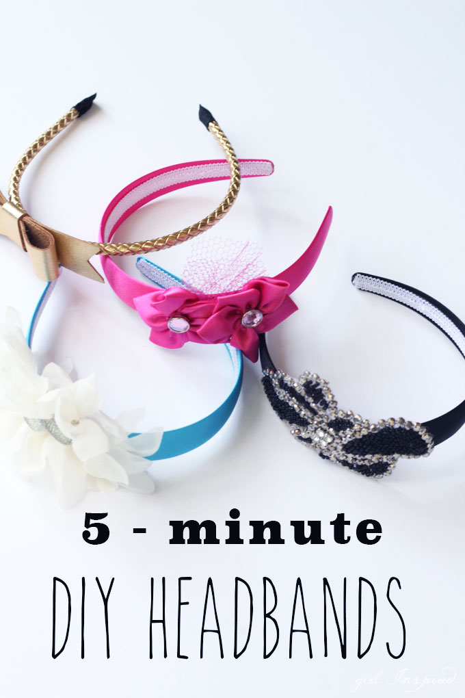 5-Minute DIY Headbands