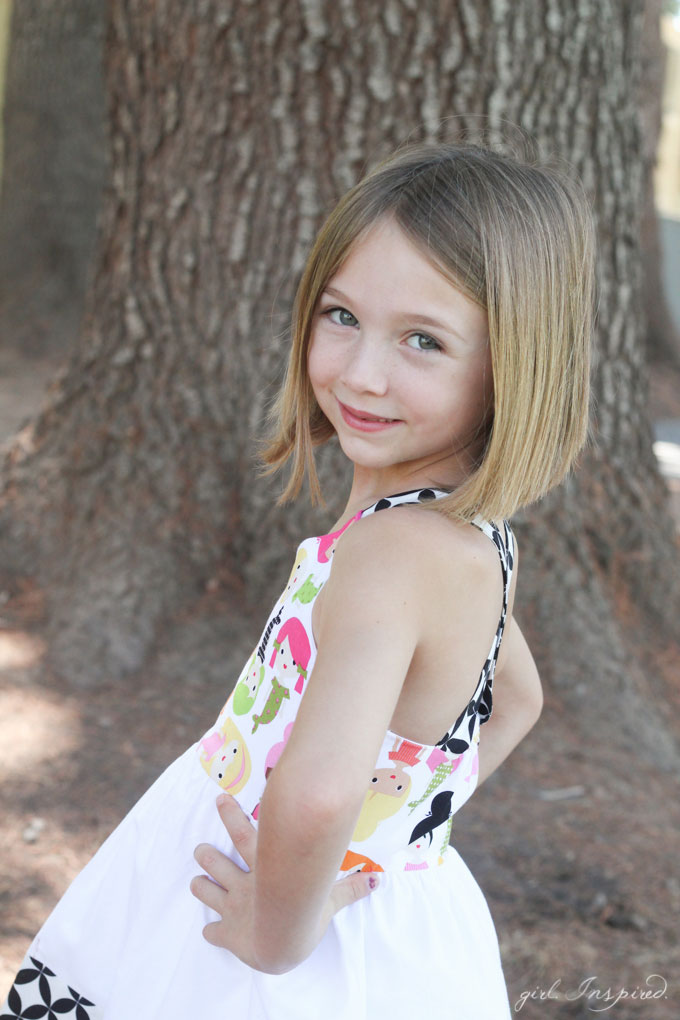 Annecy Dress Pattern - a quick sew for an adorable sundress!