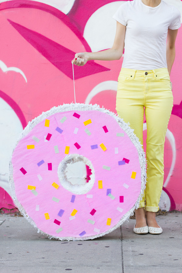 Giant Donut Piñata and tons of Shopkins Birthday Party Ideas