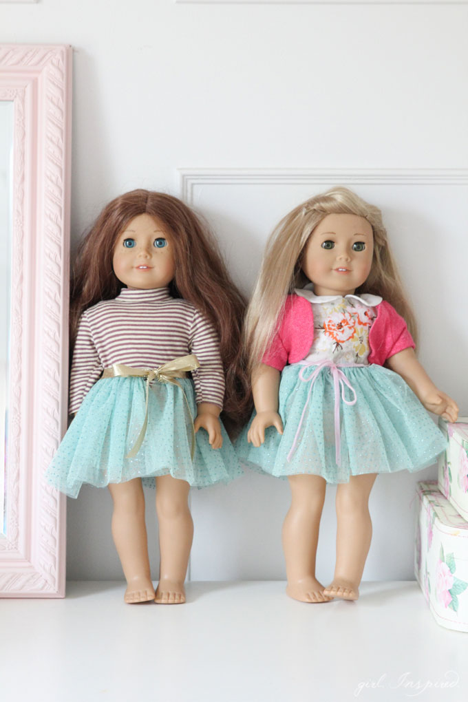 Kids can make this adorable Doll Tutu with just a little help from an adult!