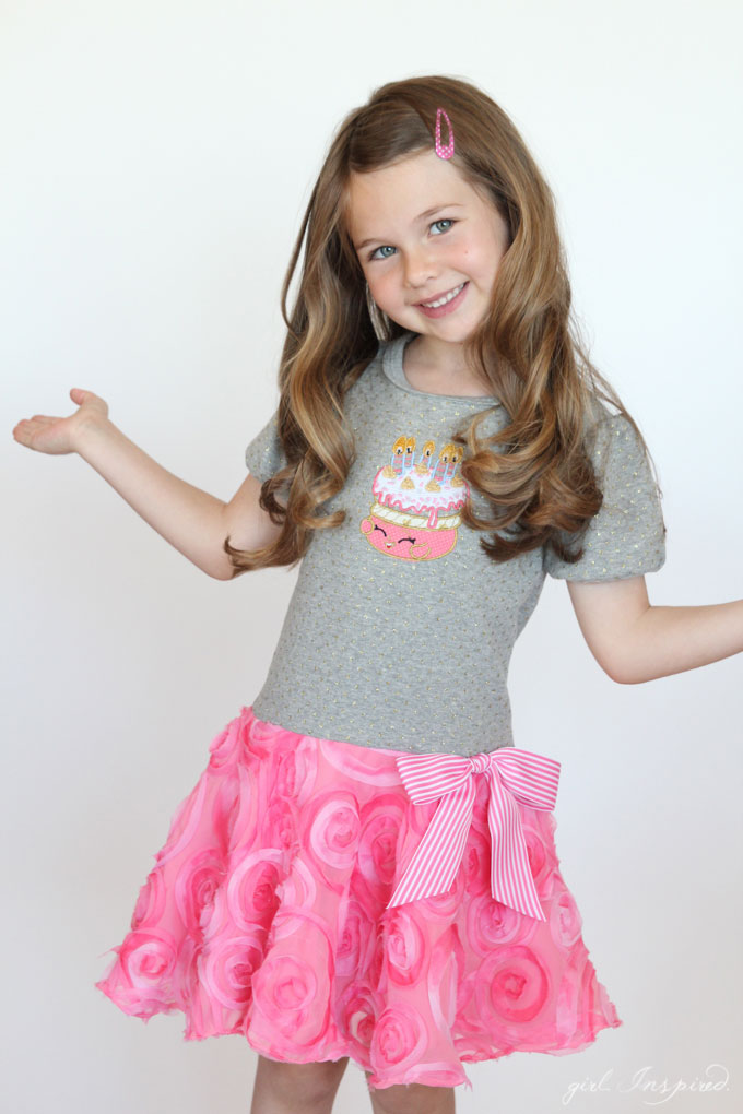Shopkins Birthday Party Dress