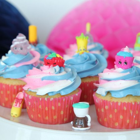 These Shopkins Cupcakes are so simple to make and the party guests will flip!