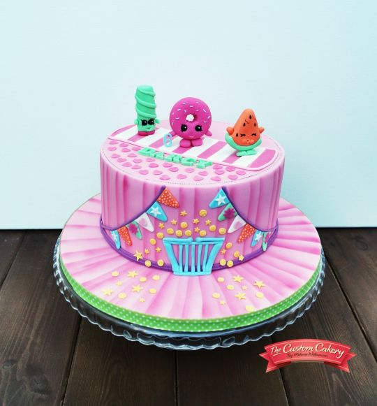 Shopkins Cake plus loads of Shopkins Birthday Party Ideas