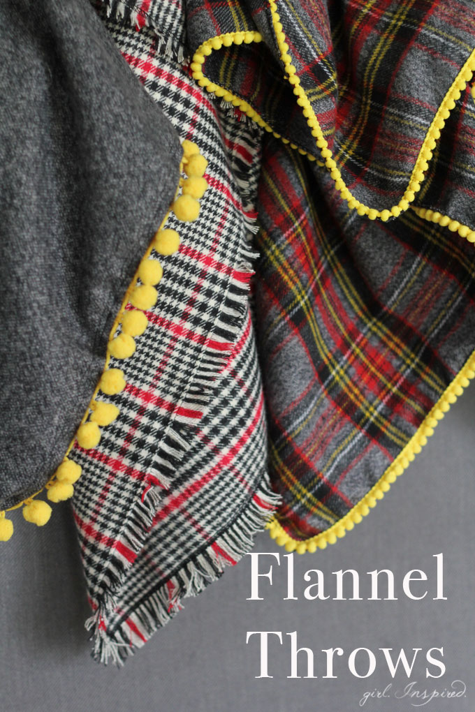 Easy Flannel Throw Blankets Girl Inspired