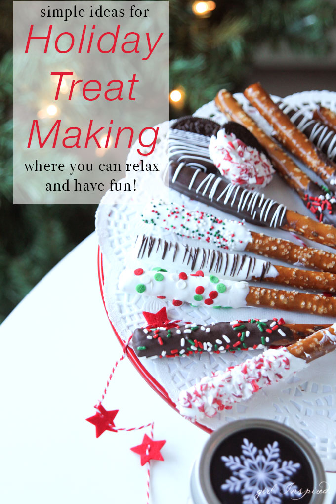 Simple Holiday Treat Making