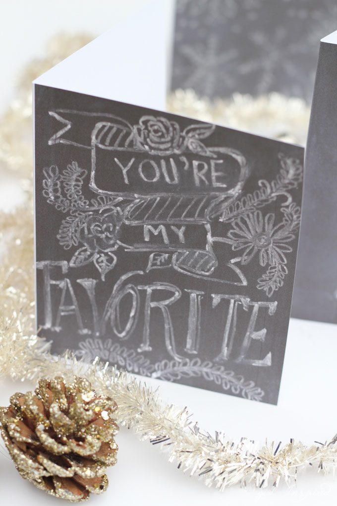 DIY Chalkboard Art - Learn the Art of Chalk Lettering!