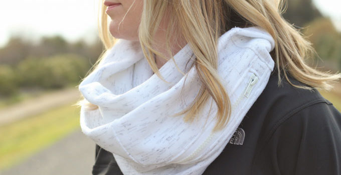 Zippered Pocket Scarf and Pattern Book Giveaway!