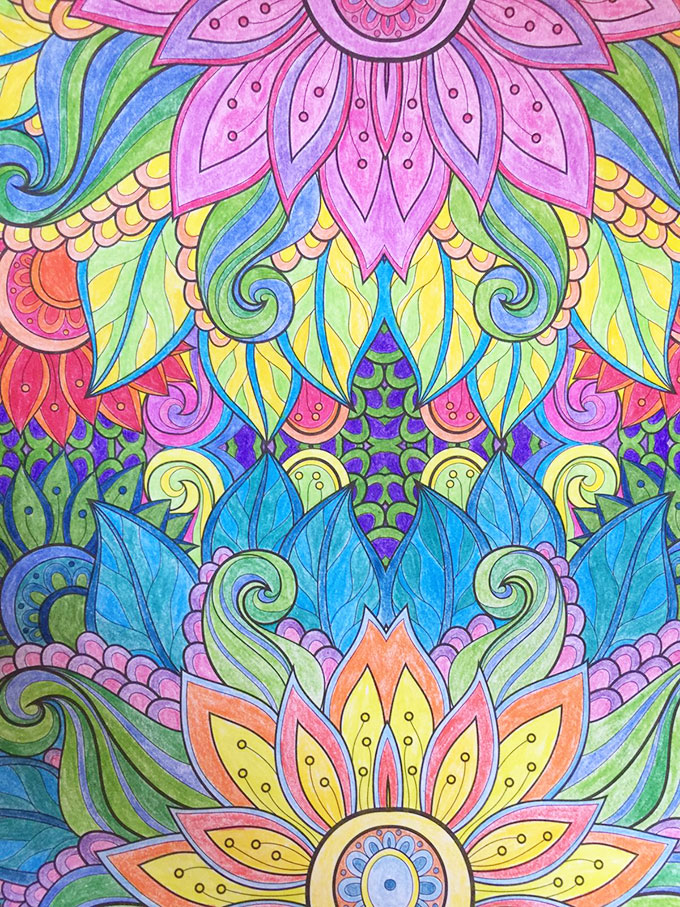 Join The Adult Coloring Book Trend