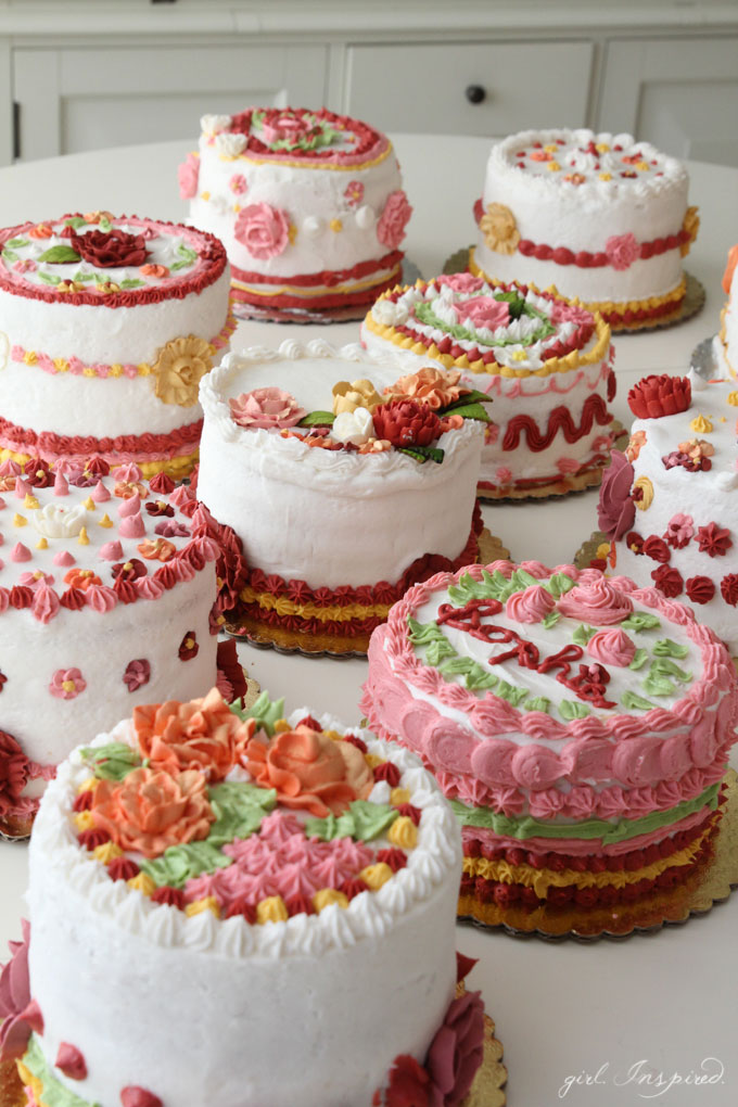 Decoration Of Cake In Home : Cake Decorating Party - girl. Inspired.